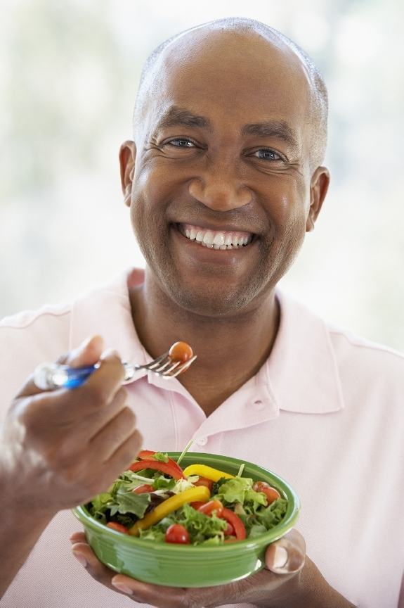 Man-eating-salad1 'Fall' into Weight Loss with Our Three Phase Approach