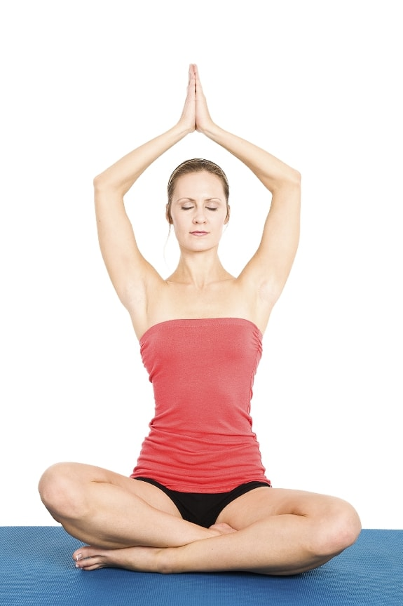 woman-doing-yoga Can Yoga Promote Weight Loss?