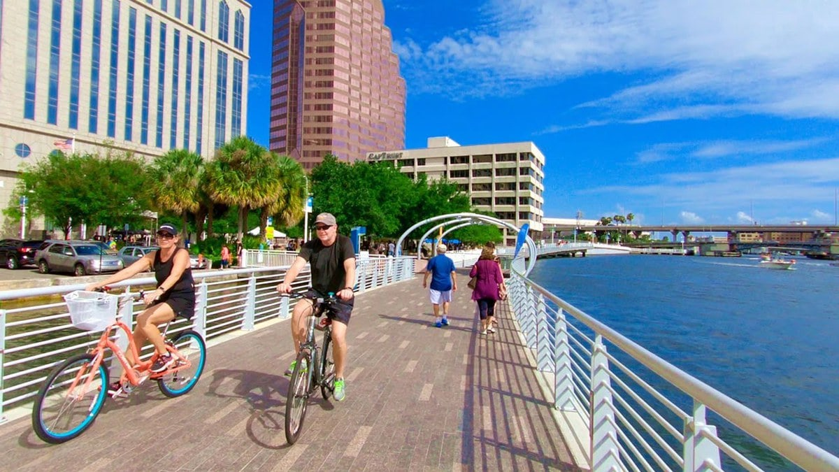 Tampa-Riverwalk 4 Best Places to Run in Tampa Bay